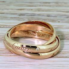 cartier rose gold russian wedding ring gatsby jewellery