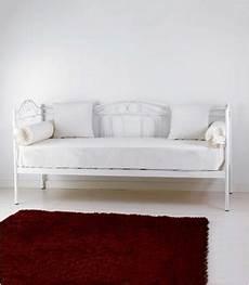 divano letto singolo arredamento divano letto in ferro battuto flora spazio casa