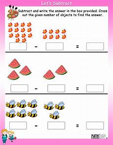 subtraction objects worksheets 10212 grade 1 math worksheets page 17