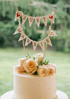 cute bunting cake topper photo by 52forty photography wedding cake toppers diy wedding cake