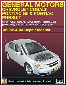 auto repair manual online 2009 chevrolet cobalt on board diagnostic system 2009 chevrolet cobalt haynes online repair manual select