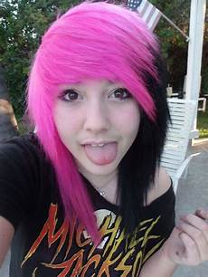 54 best pink and black hair