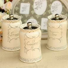 large kitchen canisters 1pcs european style white ceramic canister set