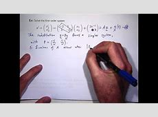 differential equations practice problems