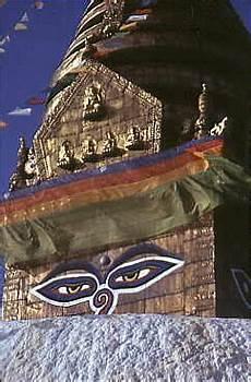 Stufen Der Erleuchtung - swayambunath