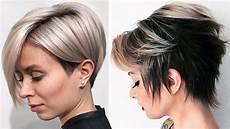 cortes cortos para mujer cortes de cabello corto con flequillo 2018 mujer moda