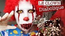 maquillage clown tueur homme 108811 maquillage clown diabolique