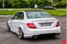 mercedes w204 c class stance style benztuning
