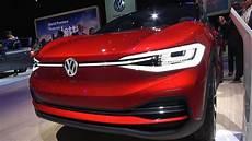 2019 vw id crozz electric concept 2018 naias detroit