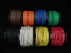 14 thhn wire stranded 8 colors 50 ft each thwn 600v building cable awg ebay