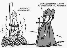 Funny Angry Strident Atheists Cartoon Atheist Atheism