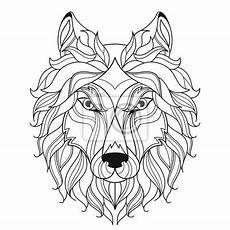 Malvorlagen Wolf Craft Ausmalbilder Wolfskopf