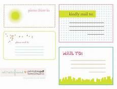 free printable cute mailing labels printables pinterest