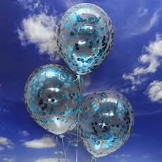 ballons mit konfetti jumbo konfetti ballons transparent gef 252 llt mit konfetti in