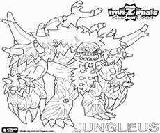 invizimals shadow zone coloring pages printable 2
