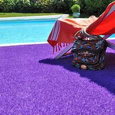gazon artificiel de couleur gazon couleur peps violet 20mm larg 2m