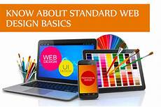 know about standard web design basics information technology blog