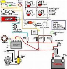 Simple Wiring Diagram Honda Cb550 Typo Biker
