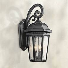 classic cottage black motion sensor outdoor wall light h6925 ls plus