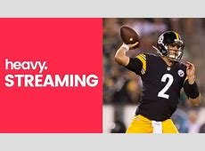 streaming steelers game live free