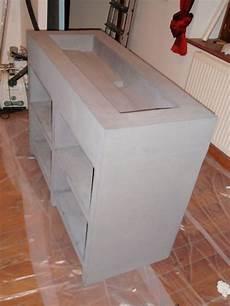 une vasque fabriqu 233 e sur mesure en wedi et en b 233 ton