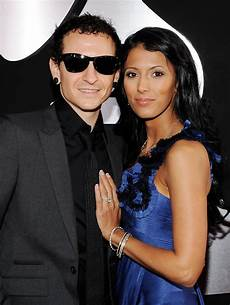 Chester Bennington Talinda Bentley Photos 52nd Annual