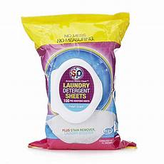 s2o laundry sheets s2o 100pc all in one laundry detergent sheets 803981