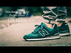 new balance 574 id pacific green nb1 on sneaker