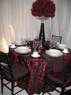 i love the black lace overlay top of the tablecloth wedding party stuff in 2019