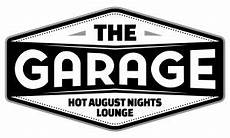 garage logo the garage preferred seating august nights