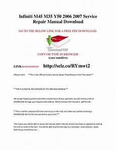 car repair manuals online free 2007 infiniti m regenerative braking infiniti m45 m35 y50 2006 2007 service repair manual download