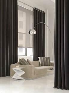 déco rideaux salon design les rideaux occultants les plus belles variantes en