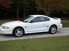1995 mustang gt 45k miles white the mustang