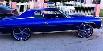 TRUE BLUE CHEVY CAPRICE ON 26 INCH Forgiato Wheels  Big