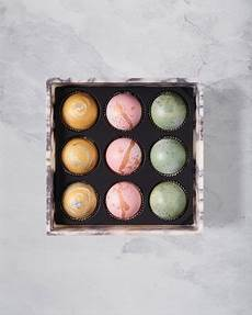 flair chocolatier marble box of 9 truffles