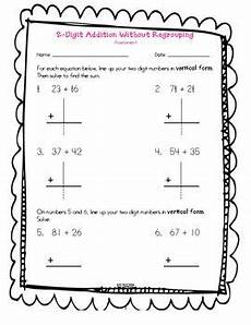 here s a assessment for 2 digit addition without