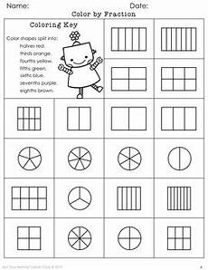 fraction worksheets colouring 3874 coloring fractions by not your s math class tpt