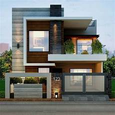 stylish designs for the modern house facade architecture