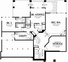 house plans daylight basement contemporary prairie with daylight basement 69105am