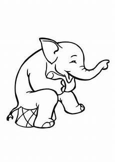 Ausmalbilder Zirkus Elefant Ausmalbilder Zirkus Elefant Elefanten Malvorlagen