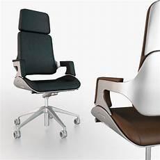 interstuhl silver 362s office chair 3d model max obj fbx