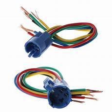 5 wire connector wiring socket plug adapter for 16 19mm push button switch ebay