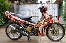 Satria 2tak Modif by Modifikasi Motor Suzuki Satria 2 Tak Keren Terbaru Otomotiva