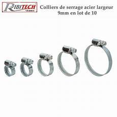 Colliers De Serrage Acier Larg 9 Mm 10 Pieces