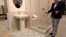 bathroom tile ideas neutral tone wall floor tile