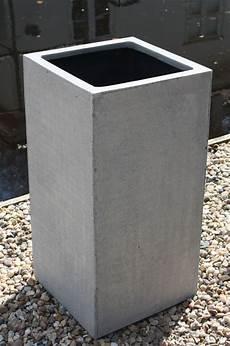 pflanzk 252 bel blumenk 252 bel quot block quot 60 aus fiberglas beton design