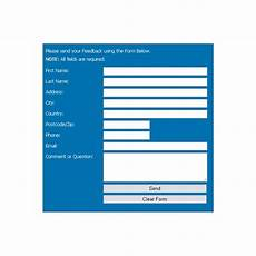 guide on how to make printer friendly web page forms