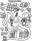 Festival Maze Coloring Page  Crayolacom