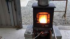 make a great waste burning stove heater