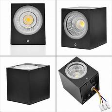 gu10 wall mounted led light black led wall l outdoor adjustable porch wall washer lights home
